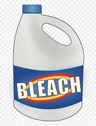 Bottle of generic bleach
