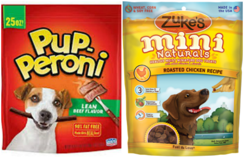 Pup Peroni And Zukes Mini Dog Treats